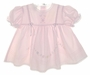 "<img src=""https://p11.secure.hostingprod.com/@grammies-attic.com/ssl/images/blue-sold-1.gif""> NEW Garden of Angels Pink Baby Dress with Pintucks and Embroidered Flowers"