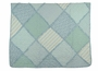 "<img src=""https://p11.secure.hostingprod.com/@grammies-attic.com/ssl/images/blue-sold-1.gif""> NEW Heirloom Style Blue and White Patchwork Print Quilt"