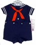 "<img src=""https://p11.secure.hostingprod.com/@grammies-attic.com/ssl/images/blue-sold-1.gif""> NEW C. I. Castro Navy Button On Sailor Suit for Baby Boys"