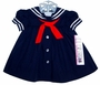 "<img src=""https://p11.secure.hostingprod.com/@grammies-attic.com/ssl/images/blue-sold-1.gif""> NEW C. I. Castro Navy Sailor Dress for Toddler Girls"