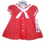 "<img src=""https://p11.secure.hostingprod.com/@grammies-attic.com/ssl/images/blue-sold-1.gif""> NEW C. I. Castro Red Checked Sailor Dress for Toddler Girls"