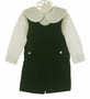 "<img src=""https://p11.secure.hostingprod.com/@grammies-attic.com/ssl/images/blue-sold-1.gif""> NEW Lavender Blue Green Velvet Shortall with Ivory Shirt"