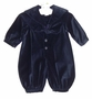 "<img src=""http://site.grammies-attic.com/images/blue-sold-1.gif"">NEW Sophie Dess Navy Velvet Sailor Romper"