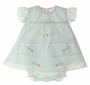 "<img src=""https://p11.secure.hostingprod.com/@grammies-attic.com/ssl/images/blue-sold-1.gif""> NEW Will'Beth White Diaper Set and Matching Bonnet with Pink Embroidery"