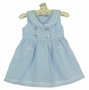 NEW Little Linens Blue Sleeveless Sailor Dress