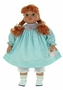 NEW Rosalina Doll with Teal Smocked Birthday Dress
