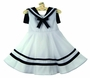 "<img src=""https://p11.secure.hostingprod.com/@grammies-attic.com/ssl/images/blue-sold-1.gif"">  Rare Editions White Sleeveless Sailor Dress with Navy Collar"