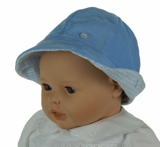 61d5c5c3f80 NEW Beaufort Bucket Hat in Blue Corduroy and Blue Checks