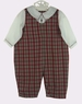 "<img src=""https://p11.secure.hostingprod.com/@grammies-attic.com/ssl/images/blue-sold-1.gif""> NEW Petit Ami Plaid Romper with Attached White Shirt"