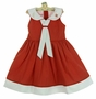 "<img src=""https://p11.secure.hostingprod.com/@grammies-attic.com/ssl/images/blue-sold-1.gif""> NEW Will'Beth Red Dotted Sailor Dress"