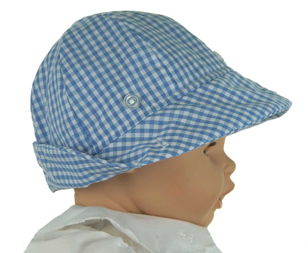 7d15653e8f2 NEW Beaufort Bucket Hat in Blue Checked Gingham