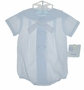 NEW Petit Ami Pale Blue Sailor Romper with Matching Hat
