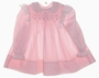 "<img src=""https://p11.secure.hostingprod.com/@grammies-attic.com/ssl/images/blue-sold-1.gif""> Polly Flinders Pink Smocked Baby Dress with White Lace Trim"