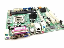 HP 410506-001 System board (Revision 3) for DX2200, Pavilion b2025br - Includes integrated LAN and audio - Socket T (LGA775)