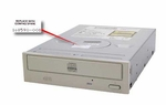 168590-001 Compaq internal CDR 8X4X IDE with stone colored bezel