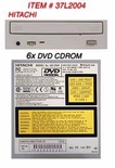 37L2004 IBM DVDROM CDROM 6X (beige bezel) for Aptiva desktop