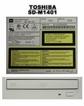 SD-M1401 Toshiba 10X SCSI DVD  with grey bezel