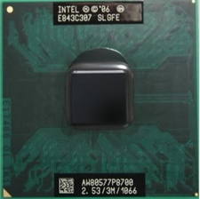 Intel SLGFE Core 2 Duo Mobile P8700 2.53GHz 3MB Cache 1066MHz Micro-FCPGA