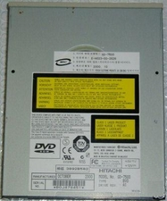 Hitachi GD-7500 DVD-ROM 12X40 IDE internal drive