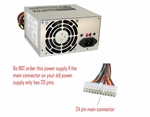 Sparkle Power 9Pa3007702 300 Watt 12V Atx Power Supply **24 Pin Conne