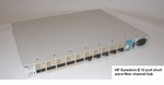 HP Surestore E 10 port short wave fiber channel hub A3724A