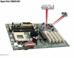 250034-001 Compaq Motherboard System Board For Presario 7000, 71Xx