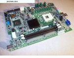302398-001 HP Compaq Motherboard System Processor Board For Evo D51