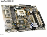 320645-001 Compaq Motherboard System Board With Flat Panel/Nic For