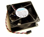 NMB-MAT 3612KL-04W-B66 fan - 12v, 0.68a 3 wire 92x38mm for Dell