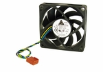 Delta AFB0712HHB 12VDC .45a 70x70x15mm 4-Pin / 4-Wire Fan