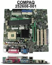 252608-001 Compaq Motherboard System Board Socket 478 Spider-S For
