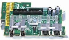 Dell X8912 Front I/O Board with USB and Audio for Mini-Tower PCs