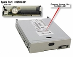 312506-001 HP floppy disk drive without bezel/button