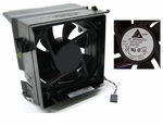 Dell D8794 fan 12V 4 wire 5 pin w/shroud for Opti & Dim SMT