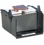 Dell H7445 Heatsink and Shroud Opti & Dim Small Desktop (SDT)