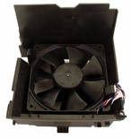 Dell H9073 fan 12V with 4 wire cable / 5 pin & shroud for Opti &