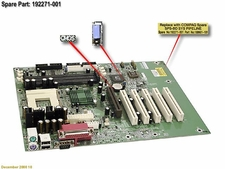 192271-002 Compaq Motherboard System Board For Presario 7000 And 7P