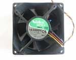 Nidec Beta V TA350DC fan 12v, 1.8a 3 wire 92x38mm for Precision