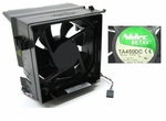 Nidec B35502-35 fan 12V with 4 wire 5 pin  & shroud