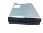 Dell DD131 floppy drive 3.5 in 1.44MB black door/bezel