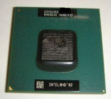 Intel Sl6Fh Cpu P4 - M Mobile Pentium 4 1.80Ghz 512Kb 400Mhz 478 Pin