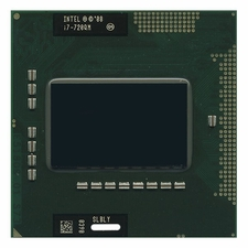 Intel SLBLY Core I7-720QM Mobile 1.60GHZ 6MB Cache Socket G1 988-pin Micro-FCPGA