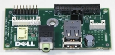 Dell M5989 Front I/O Panel with USB and Audio for Optiplex, Dimen