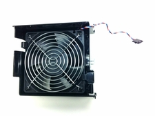 Dell P8107 fan and shroud 120x38mm  5 pin  cable