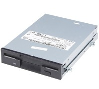 Dell 7F454 floppy disk drive 1.44MB 3.5 inch IDE with black door