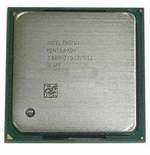 Sl6Pe Intel P4 2.66Ghz Cpu 512Kb Cache, 533Mhz Fsb Socket 478