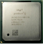 Intel Sl5Yr 2.0Ghz Cpu - 512Kb Cache, 400Mhz Fsb - Socket 478