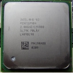 Intel Sl79K 4 2.8 Ghz Cpu - 1Mb Cache, 800Mhz Fsb - Socket 478