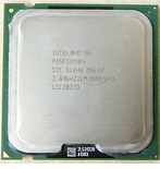 Intel Sl8Hx Processor - Pentium 4 521 2.8Ghz Processor, 1Mb Cache, 80