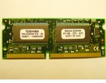 Thly6480H1Fg-80 Memory Toshiba 64Mb Pc100 Sodimm